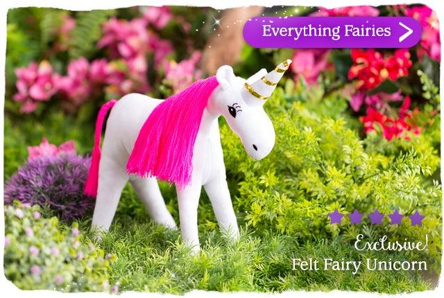 Exclusive Felt Fairy Unicorn Shop Everything Fairies >