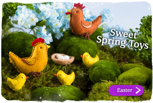 Sweet Spring Toys Shop all Easter >